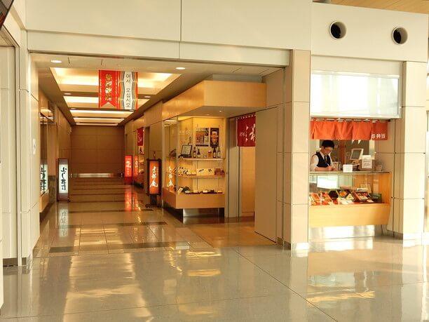 空港のお店