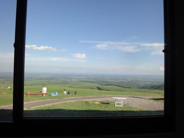 レストハウスからの眺望