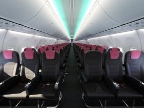 飛行機の空席
