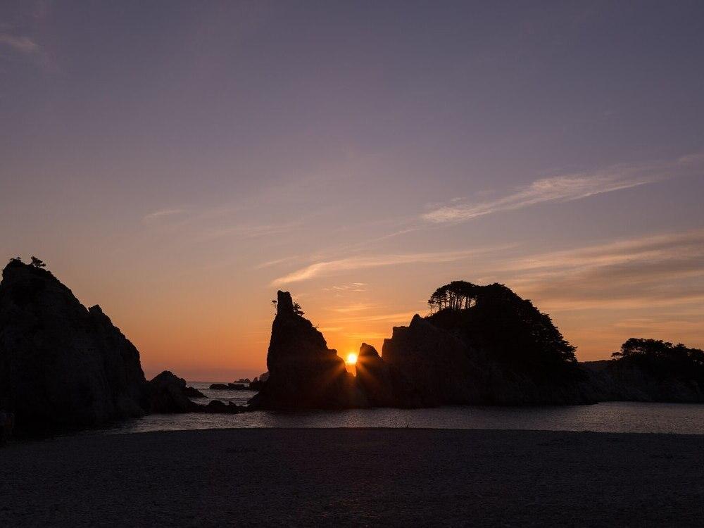浄土ヶ浜海浜