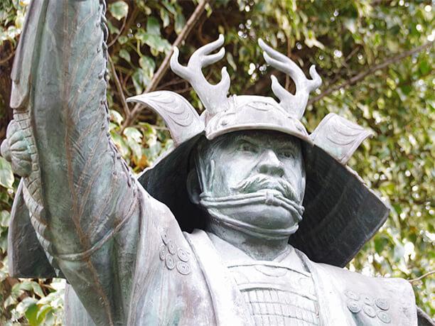 真田幸村(信繁)の銅像