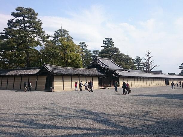 京都御所の周り
