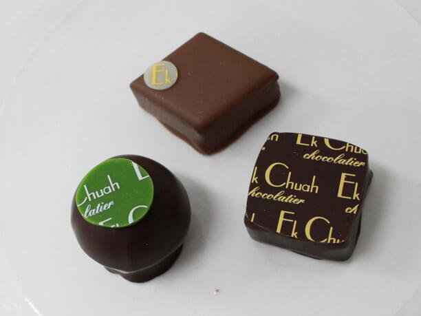 煎茶、ソルト、ミエル、大人な味わいのチョコレート