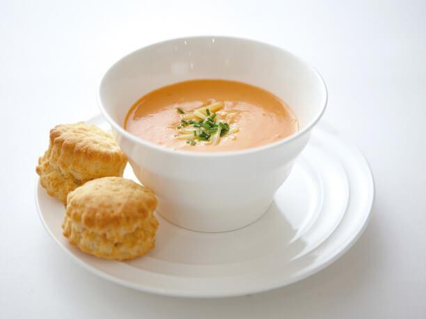 ベルベティークリームトマトスープ