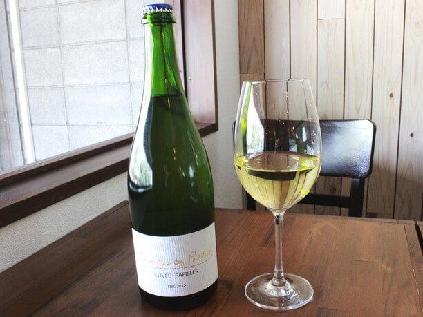 フジマル醸造所製造の白ワイン