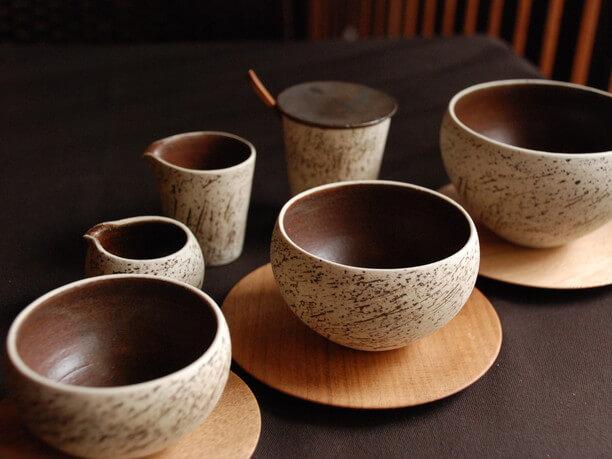 陶芸作家竹口要さんのカップ