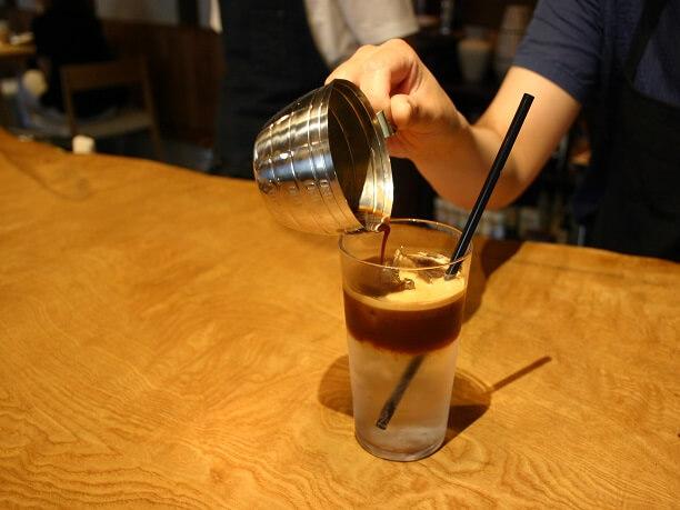 カフエグランピーのコーヒー