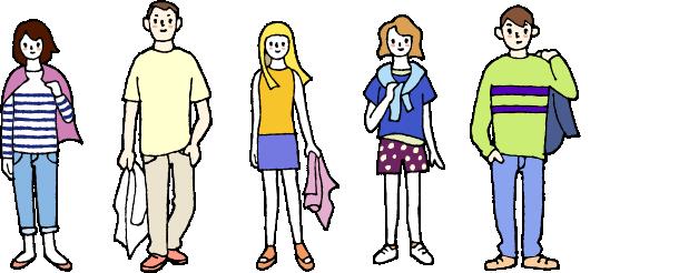 関西旅行に適した服装