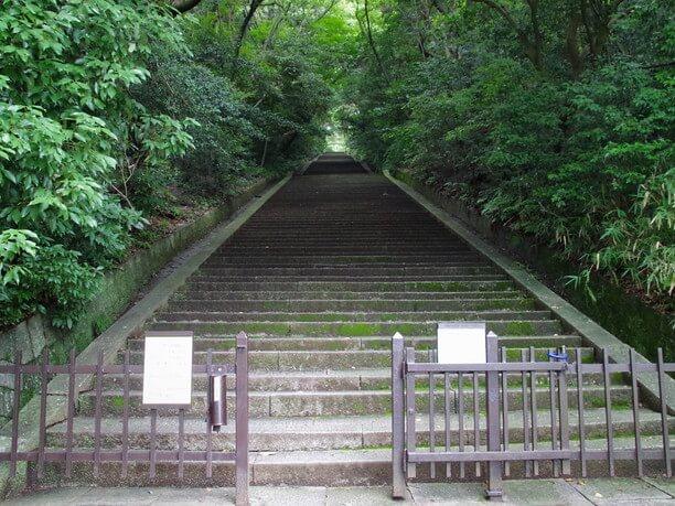 およそ500段の階段