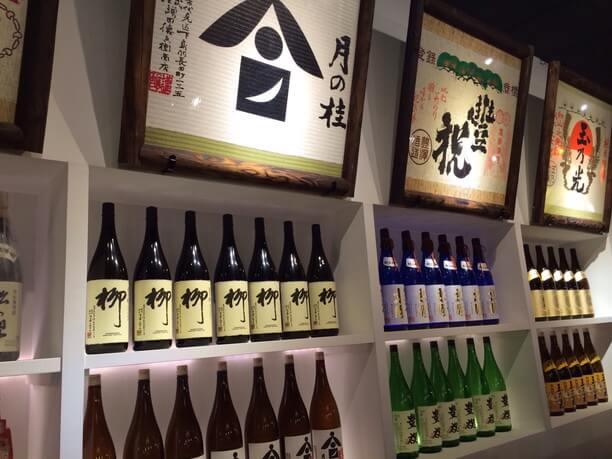 名だたる蔵元の日本酒たち