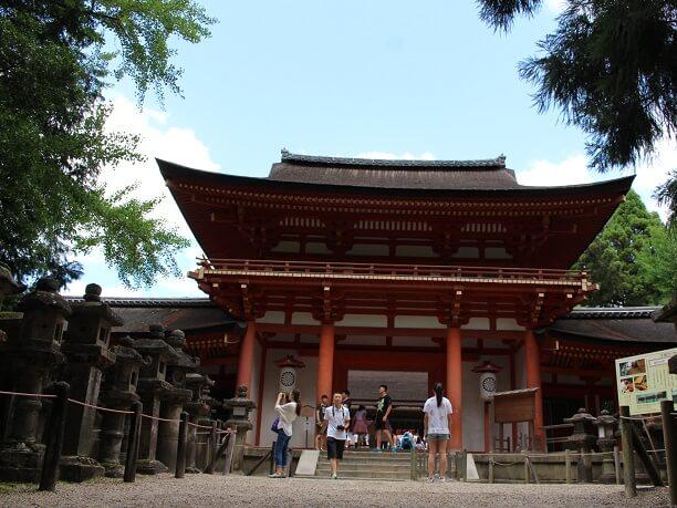 大きな神殿