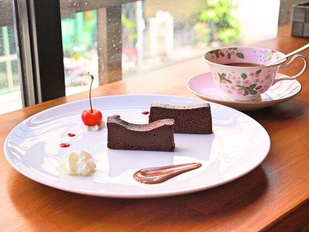 厳選されたチョコレート