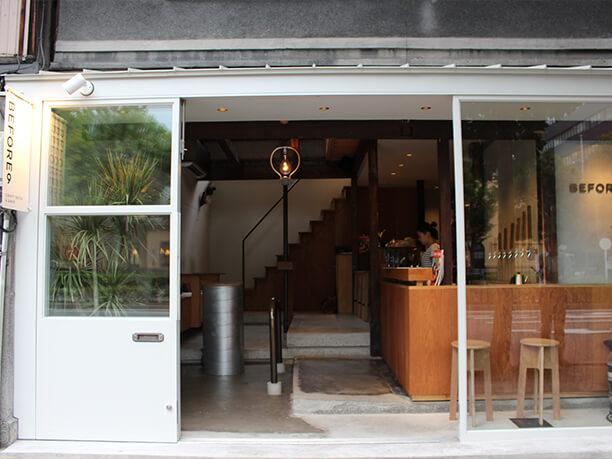 オープンスタイルの店舗