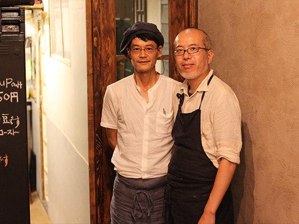 髙村賢さんと丸島健さん