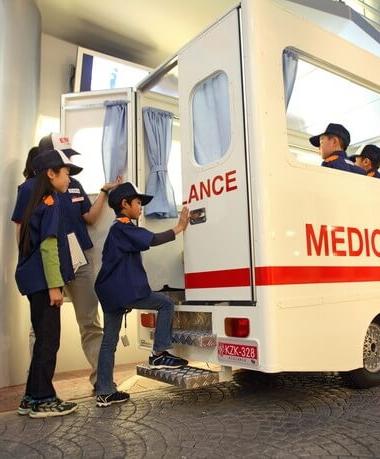 救急救命士を体験