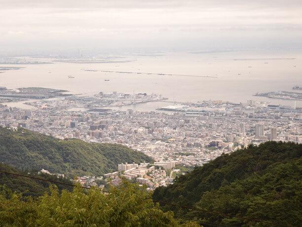 天覧台からの眺め