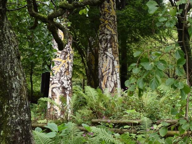 六甲高山森林内壁画