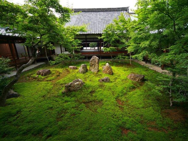 四方生面の庭