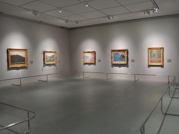 山手館の展示風景