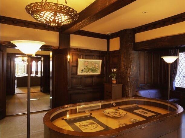 本館展示室・旧食堂