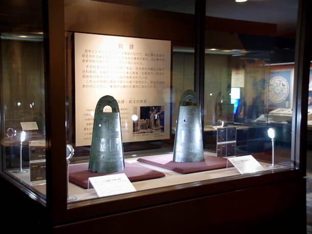 国宝の銅鐸(どうたく)