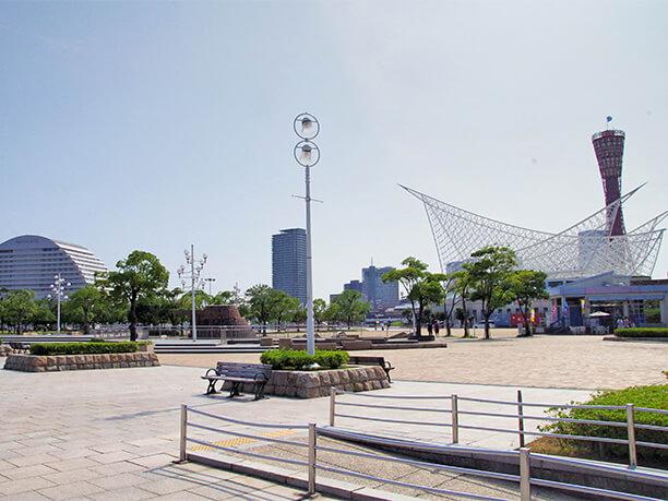 神戸を代表する公園「メリケンパーク」