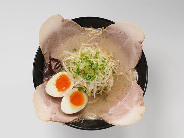 クリーミィと呼べる豚骨スープのラーメン