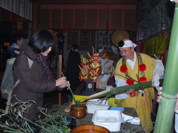 京都三大初参りのひとつ「初不動」