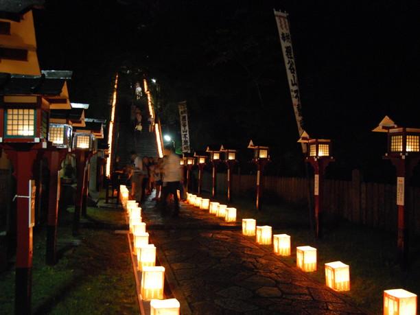 毎年7月28日にある「火祭り祭」