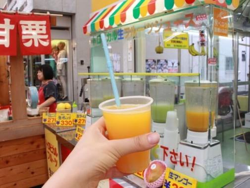 生オレンジのジュース