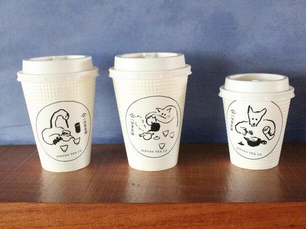 テイクアウトメニューのカップ