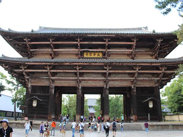 東大寺の正門
