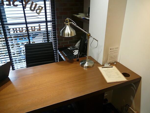 商談用の個室