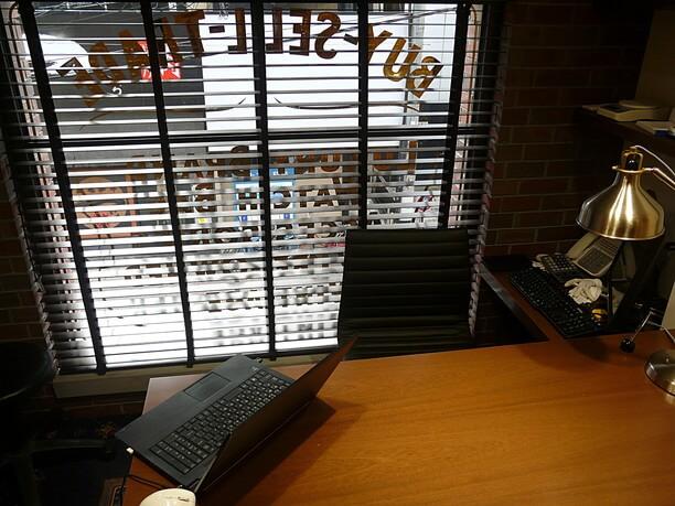 商談用の机