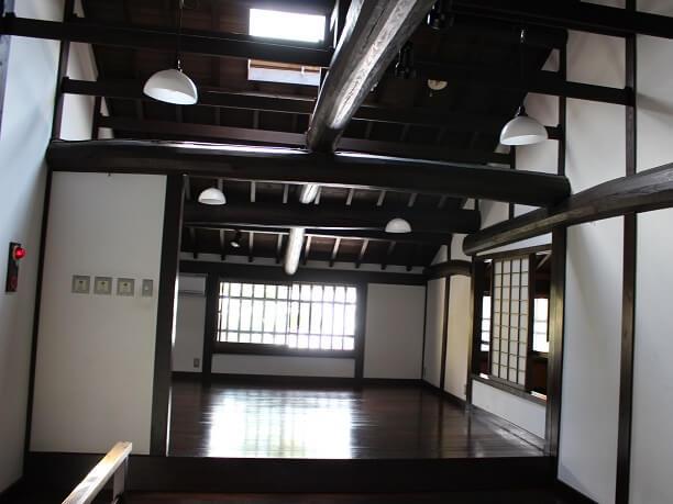 復元町家の2階