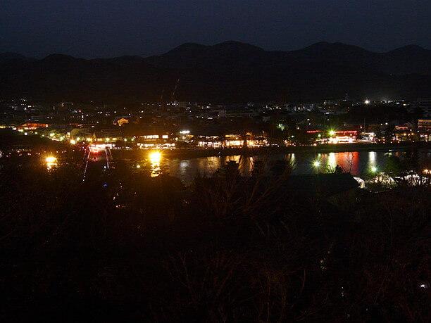 京都市内の夜景
