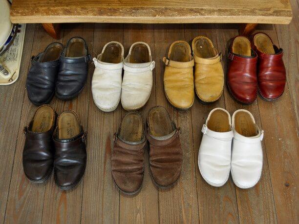 愛情たっぷりに育てられた靴たち