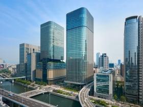 ビジネス街・中之島にオープンした「コンラッド大阪」