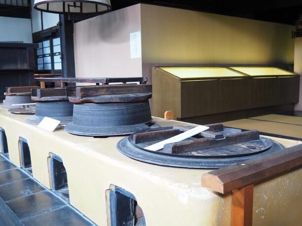 寺院の庫裏と同規模の台所