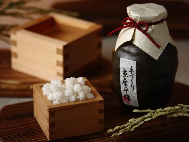 日本酒の風味を封じ込めた金平糖