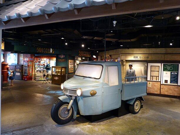 昭和初期を代表する三輪トラック