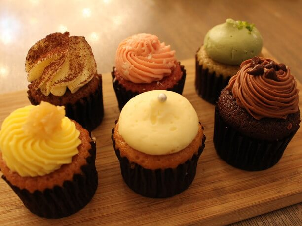 デミタスカップケーキ