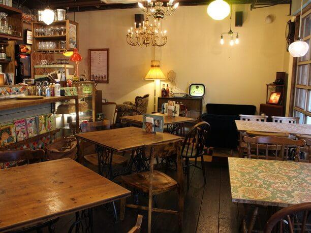「Cafe Tokiona」店内