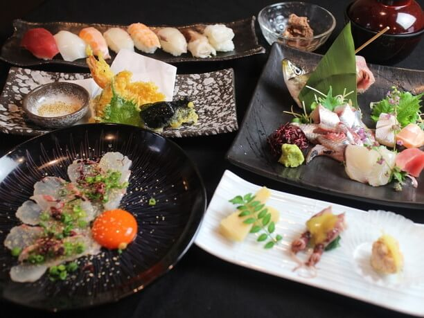 リーズナブルな値段でいただけるお寿司メニュー