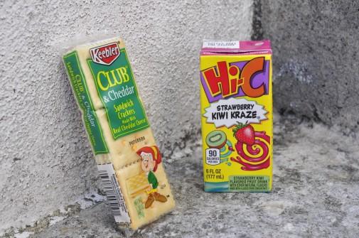 アメリカの飲み物とお菓子