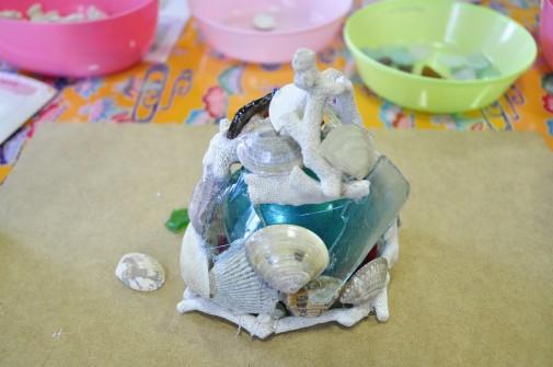 貝殻アート2