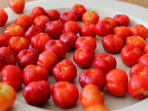 鮮やかなフルーツ