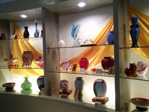 琉球ガラス作品