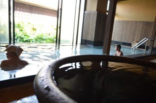 つぼ湯の温泉3