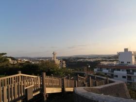 西のアザナからの景色